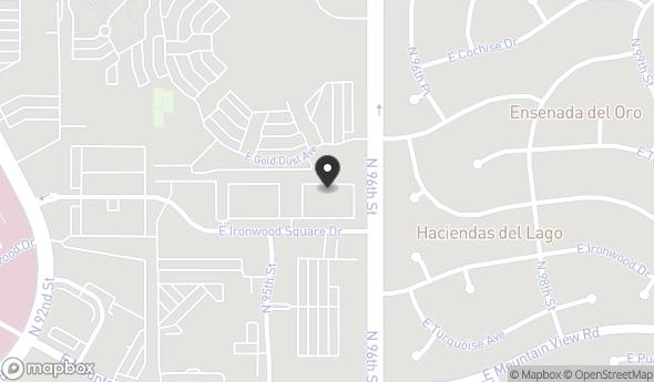 Location of Ironwood Courtyard, Suite 108: 9590 E Ironwood Square Dr, Scottsdale, AZ 85258