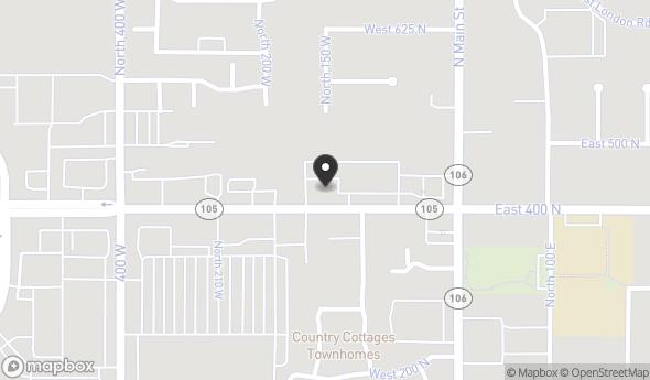 Location of PARRISH SQUARE: 184 W Parrish Ln, Centerville, UT 84014
