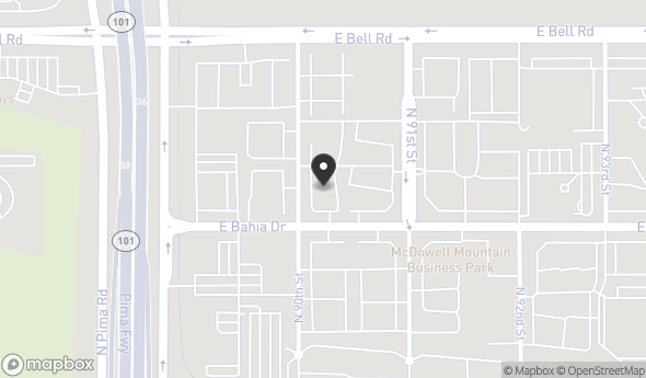 Location of SHOPS AT SOHO SCOTTSDALE: 9024 E Bahia Dr, Scottsdale, AZ 85260