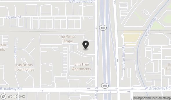 Location of The Circuit: 1532 S Price Rd, Tempe, AZ 85281