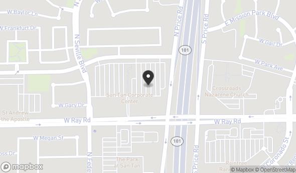 Location of SanTan Corporate Center II: 3100 W Ray Rd, Chandler, AZ 85226