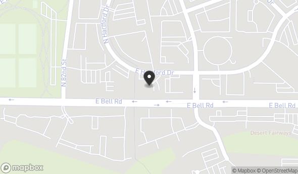 8445 E Hartford Dr Map View