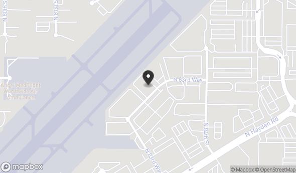 Location of Leased - Industrial Space: 15616 N 83rd Way, Scottsdale, AZ 85260