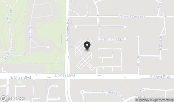 10613 N Hayden Rd Map View