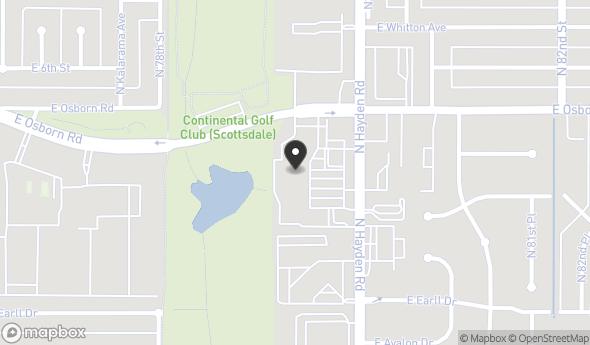 Location of OfficeMax Lucky Plaza: 3308-3388 North Hayden Road, Scottsdale, AZ 85251