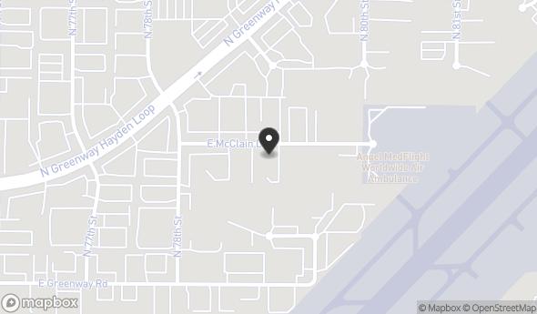 Location of Unit 104 & 105: 7891 E McClain Dr, Scottsdale, AZ 85260