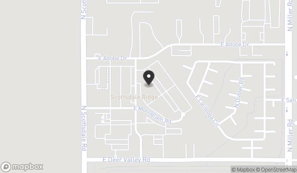 Location of 7343 E Adobe Dr, Scottsdale, AZ 85255