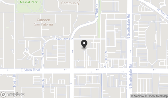 Location of Block 7000: 7000 E Shea Blvd, Scottsdale, AZ 85254