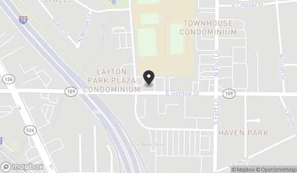 Location of 283 E Gentile St, Layton, UT 84041