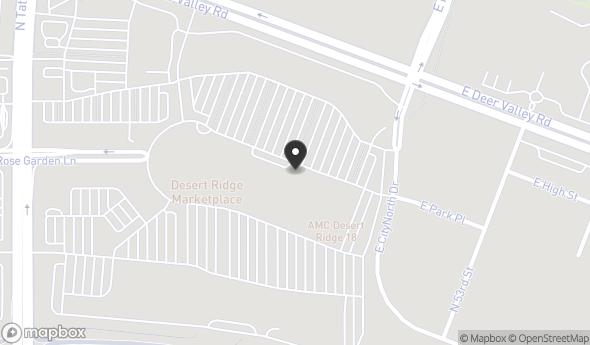 Location of Desert Ridge Corporate Center: 21001 N Tatum Blvd, Phoenix, AZ 85050