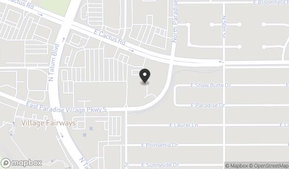 Location of PARADISE VALLEY CORPORATE CENTER: 4835 E Cactus Rd, Scottsdale, AZ 85254