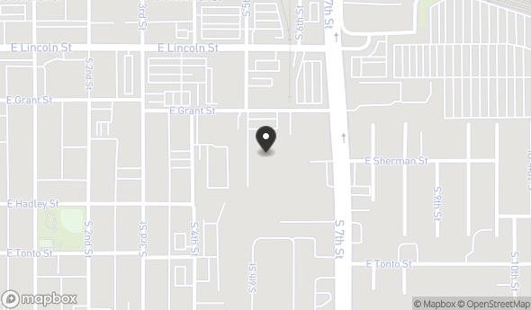 Location of The Lawrence Building: 515 E Grant St, Phoenix, AZ 85004