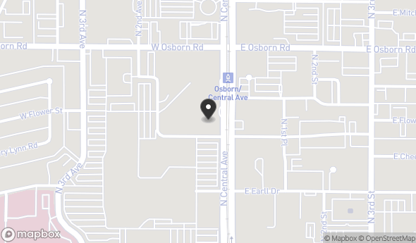 Location of 3200 N Central Ave, Phoenix, AZ 85012