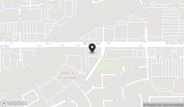 Location of Bell American Plaza: 7111-7121 W Bell Rd, Glendale, AZ 85308