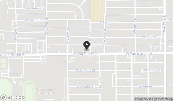 Location of 9354 W Van Buren St, Tolleson, AZ 85353