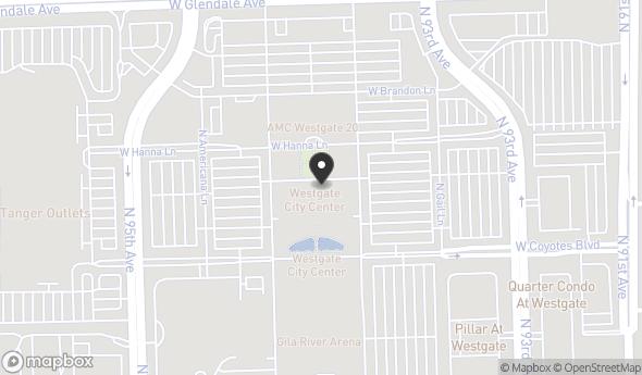 Location of WESTGATE: 6751 N Sunset Blvd, Glendale, AZ 85305