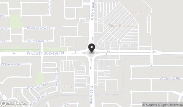 Location of Pecan Promenade: S 99th Ave & W Lower Buckeye Rd, Tolleson, AZ 85353