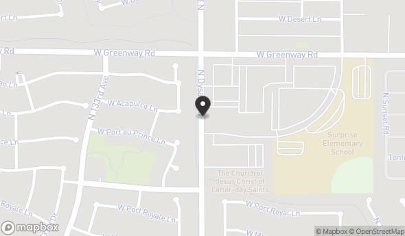 Location of Sold - Retail Building: 15235 N Dysart Rd, El Mirage, AZ 85335
