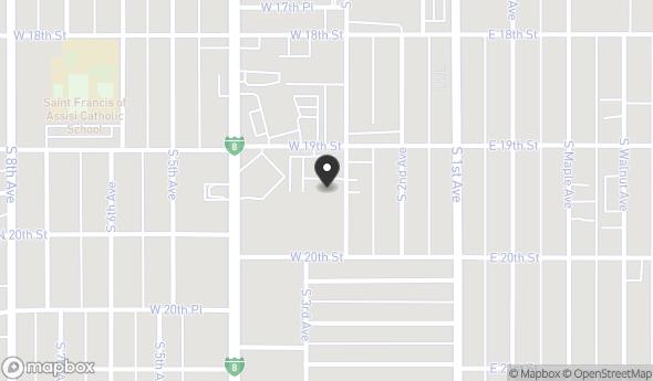 Location of 1940 S 3rd Ave, Yuma, AZ 85364
