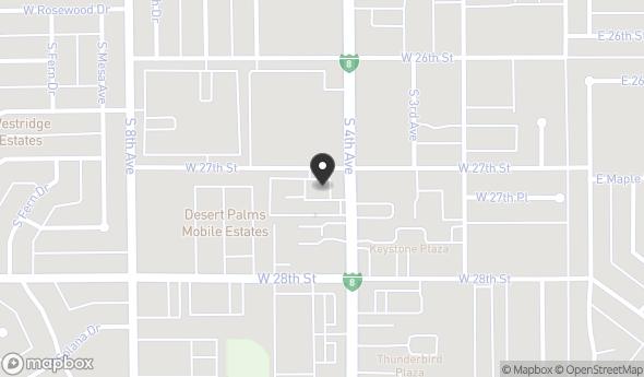 Location of 2718 S 4th Ave, Yuma, AZ 85364