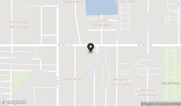 Location of LAS PALMAS MARKET: 3745 W 8th St, Yuma, AZ 85364