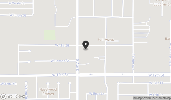 Location of Avenue C 11 Unit Apartment Complex: 1101 S. Avenue C, Yuma, AZ 85364