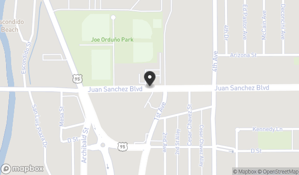 Location of 776-34-254 JUAN SANCHEZ BLVD Parcel 776-34-254, San Luis, AZ 85349