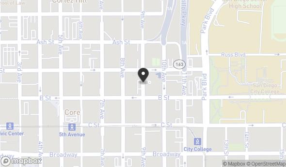Location of Vantage Pointe: 1251 9th Ave, San Diego, CA 92101