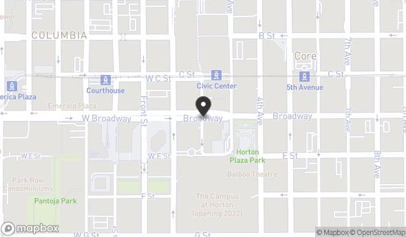 Location of Chula Vista Mall: 555 Broadway St., San Diego, CA 92101