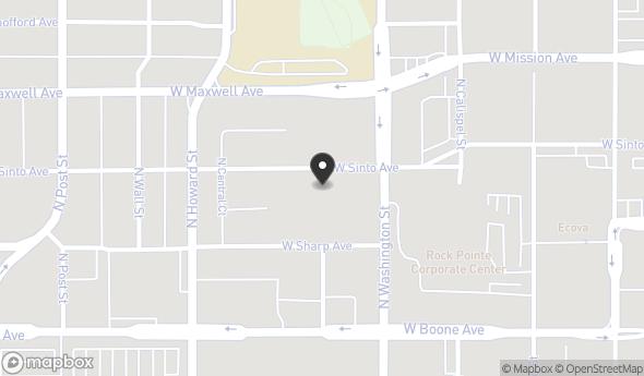 Location of 427 W Sinto Ave, Spokane, WA 99201