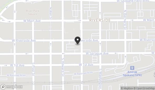 Location of Fernwell Building: 505 W Riverside Ave, Spokane, WA 99201