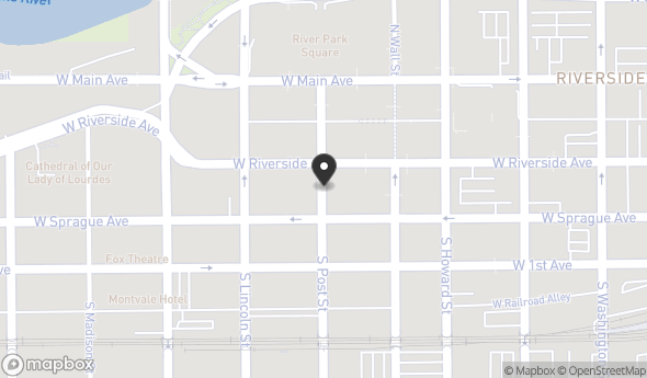 Location of Peyton Building: 10 N Post St, Spokane, WA 99201