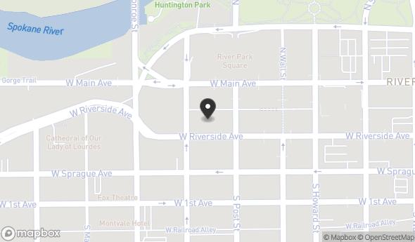 Location of Lincoln Plaza: 818 W Riverside Ave, Spokane, WA 99201
