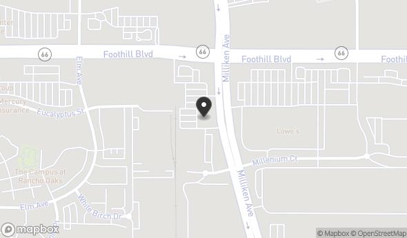 Location of 8112 Milliken Ave, Rancho Cucamonga, CA 91730