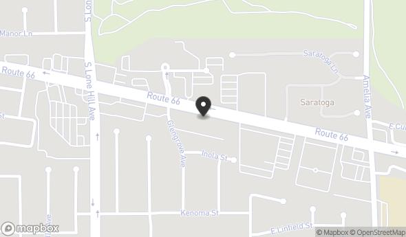 Location of Whiting Alosta Center: 2028 E Route 66, Glendora, CA 91740