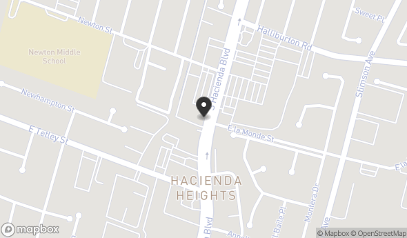 2143 S Hacienda Blvd Map View