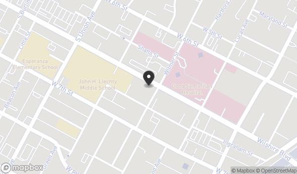 Location of 1310 Wilshire Blvd, Los Angeles, CA 90017