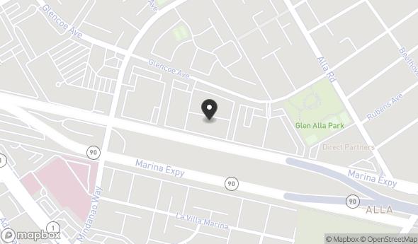 4505 Glencoe Ave Map View