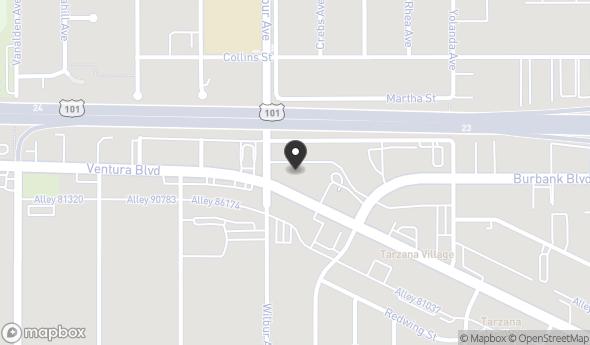 18849 Ventura Blvd Map View