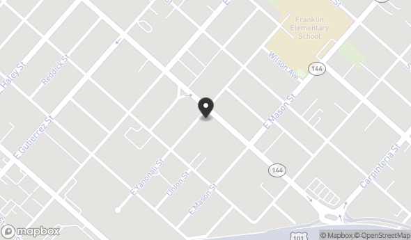 Location of 135 N Milpas St, Santa Barbara, CA 93103