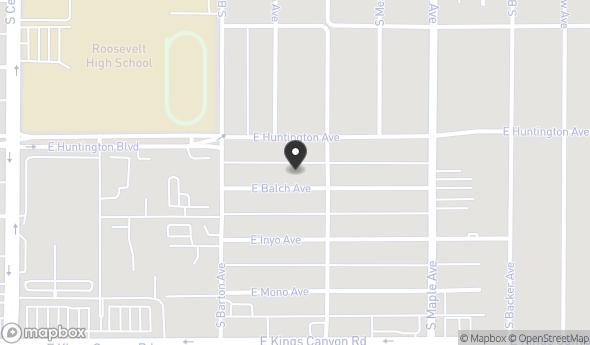4533 E Balch Ave Map View