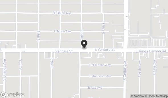 4007 E Ventura Ave Map View