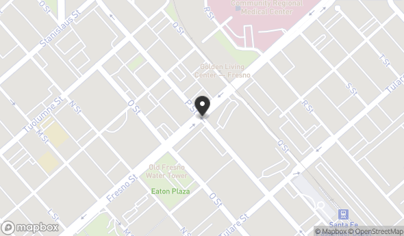 Location of Fresno Street: Fresno Street, Fresno, CA 93721