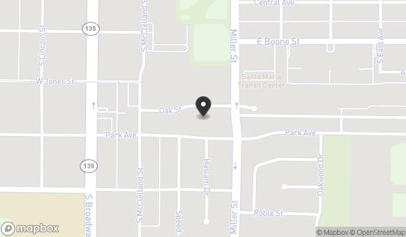 Location of 300 Oak St, Santa Maria, CA 93454