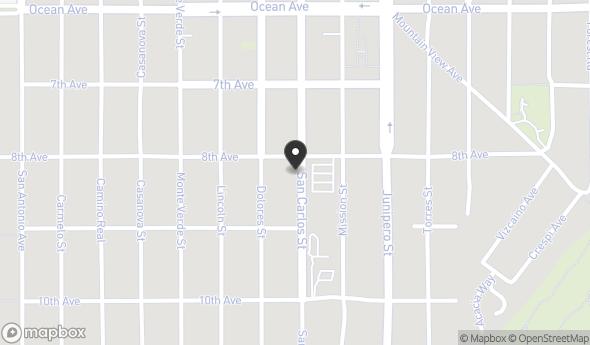Location of SAN CARLOS PROFESSIONAL BUILDING: NW 8th Avenue, Carmel-By-The-Sea, CA 93921