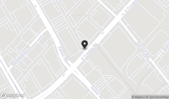 Location of Trimble Tech: 455 E Trimble Rd, San Jose, CA 95131