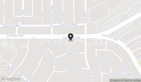 Location of Silicon Valley Business Center: 1900 Camden Ave, San Jose, CA 95124
