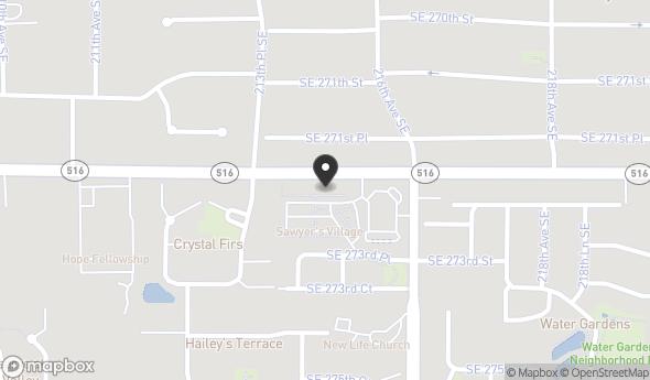 Location of SAWYER'S VILLAGE: 27203 216th Ave SE, Maple Valley, WA 98038