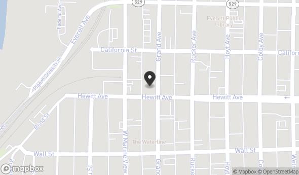 Location of Nautica Condominiums: 2824 Grand Ave, Everett, WA 98201