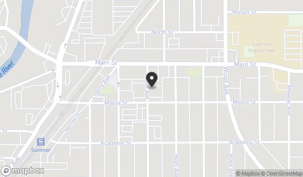 Location of 909 Alder Ave, Sumner, WA 98390